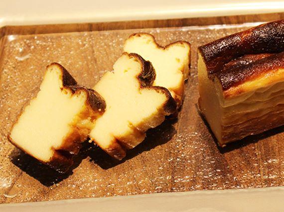 Basque-cheesecake